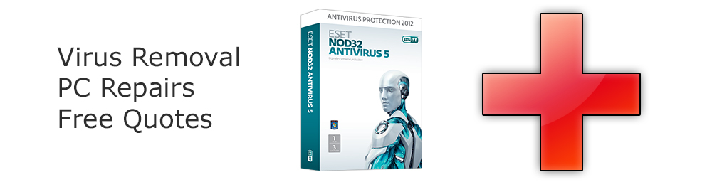 Virus removal, PC repairs and free quotes