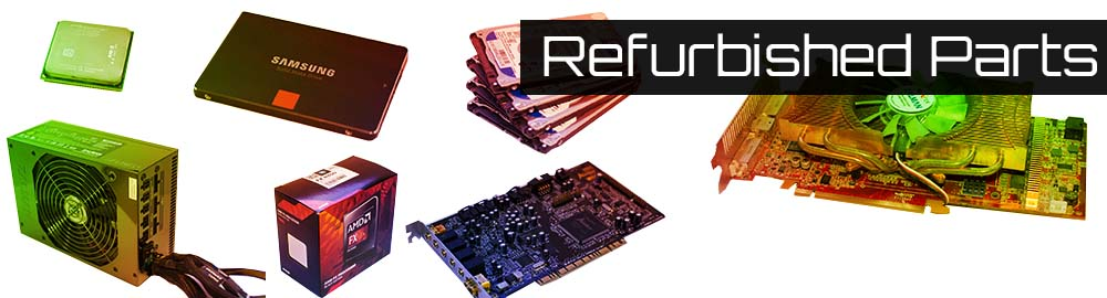 A wide range of refurbished parts at low prices